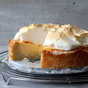 Cheesecake Meringue taart