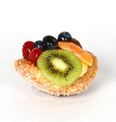 Gebak-vruchtenschelp