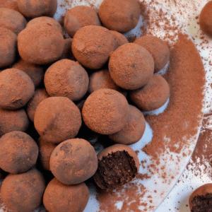 Van Houten cacao slagroomtruffels